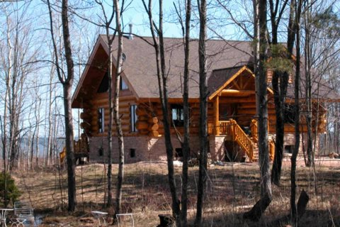 A cabin up north near ontonagon mi the porcupine for Up north cottages